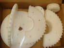 Waterjet Profiled Sprocket Components